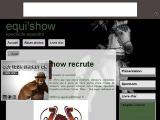 Spectacle equestre equi'show